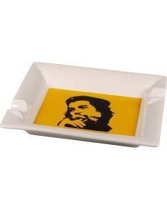 "Cigaraskebæger ""Che"" hvid/gul H 3.5 x 21 x 17 cm"
