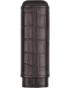 Cigar etui croco  design læder