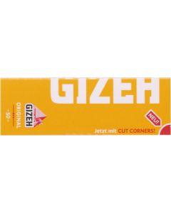 GIZEH Gul 50 stk. cigaretpapir