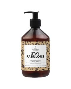 STAY FABOLOUS, Hand Soap, The Gift Label, 500 ml.