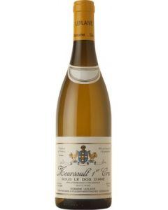 """Domaine Leflaive, Meursault 1. cru """"Sous le Dos d'Ane"""" 2018, 75 cl."""