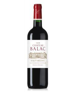 Château Balac, Cru Bourgeois Superieur 2018, 75 cl.