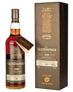 Glendronach 1989, Single Cask 5476, 28 Y.O. Batch 16, 70 cl. 49,9%