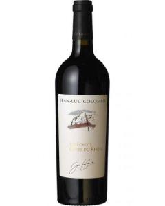 """Jean-Luc Colombo, Côtes du Rhône """"Les Forots"""" 2015, 150 cl."""