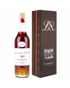 Laballe, Bas Armagnac 1981, 44,7% 70 cl.