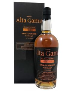 Alta Gama, Single Cask El Salvador 11 Y.O., 66% 70 cl.