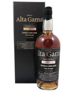 Alta Gama, Single Cask Venezuela 15 Y.O., 60% 70 cl.