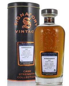 Signatory Vintage, Bunnahabhain 2007, 12 Years 70 cl. 58,1%
