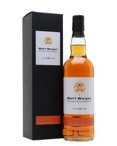 Watt Whisky, 10 Y.O. Blended Malt, 56,5% 70 cl.