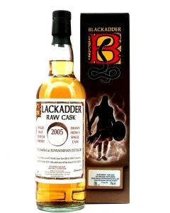 Blackadder Raw Cask, Bunnahabhain Distillery 2005, 14 Y.O. 57,1% 70 cl.