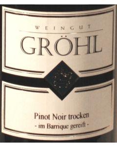"""Gröhl, Pinot Noir """"Oppenheimer Heerenberg"""" 2009, 75 cl."""
