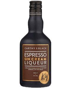 Carthy & Black, Espresso Gin Cream Liqueur, 17% 50 cl.