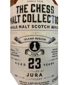The Chess Malt Collection, Jura 23 Y.O., 53,7% 70 cl.