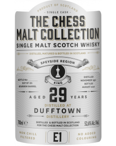 The Chess Malt Collection, Dufftown 29 Y.O., 52,6% 70 cl.