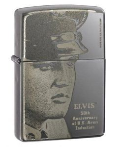 Zippo Elvis Military US Army 50th A. Limitid