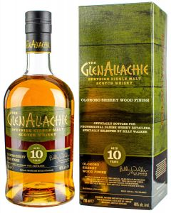 GlenAllachie, 10 Y.O. Oloroso Sherry Finish, 48% 70 cl.