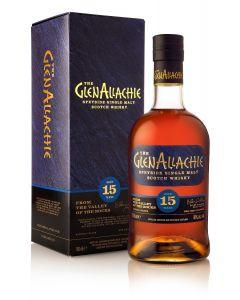 GlenAllachie, 15 Y.O. P.X & Oloroso Cask, 46% 70 cl.