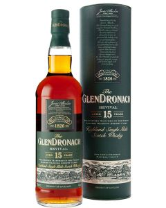 GlenDronach, 15 Years Revival 70 cl. 46%
