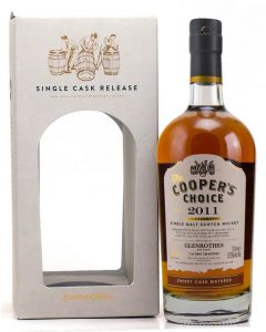 The Cooper's Choice, Glenrothes 2011, 6 Y.O. Sherry Cask, 57,5% 70 cl.