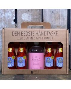 Hernö Pink BLT Håndtaske m. 4 fl. Indi Jordbærtonic, 42%