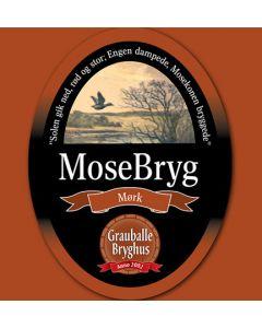 Grauballe Bryghus - Mosebryg Mørk 50 cl.