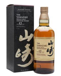 Yamazaki, 12 Y.O. Single Cask, 43% 70 cl.