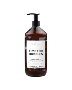 TIME FOR BUBBLES, Cleaning Soap, The Gift Label, 1000 ml.