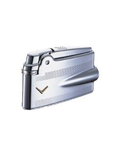 Ronson Mini Varaflame Engine Turn Silver