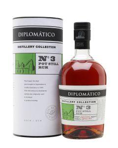 Diplomático, NO. 3 Pot Still Rum, 47% 70 cl.
