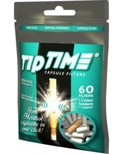 Tip Time capsule filter menthol 60 filter
