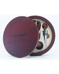 Vin sæt i træ æske (Cohiba)