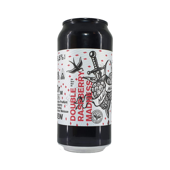 Mad Scientist - Double Raspberry Madness 44 cl.