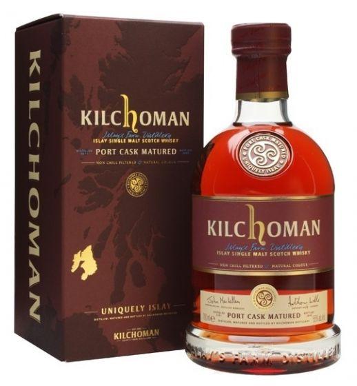 Kilchoman, Port Cask Matured, 50% 70 cl.