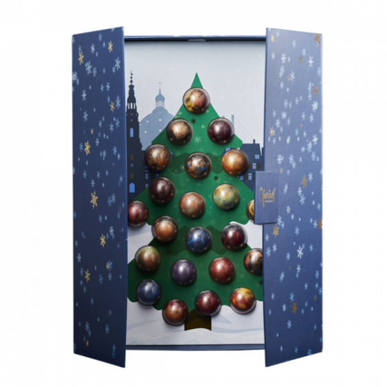 24 days of chocolate art julekalender