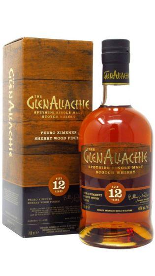 GlenAllachie, 12 Y.O. Pedro Ximenez Finish, 48% 70 cl.