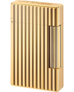 "Dupont ""initial"" flint lighter striber (gold color)"