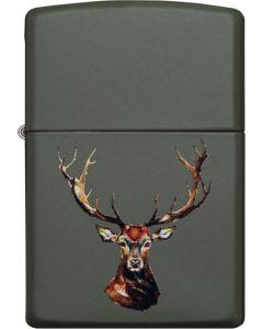 Zippo Deer Head