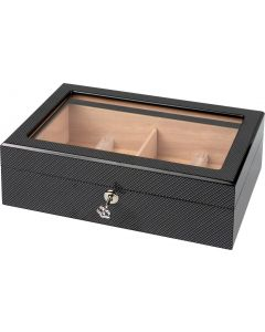 Humidor Carbon Finish hi-gloss