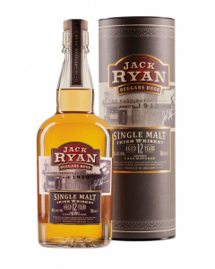 Jack Ryan, 12 Y.O. Irish Whiskey, 46% 70 cl.