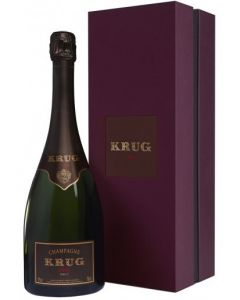 Krug, Vintage 2004 i giftbox, 75 cl.