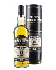 The Chess Malt Collection, Bowmore 22 Y.O., 52,9% 70 cl.