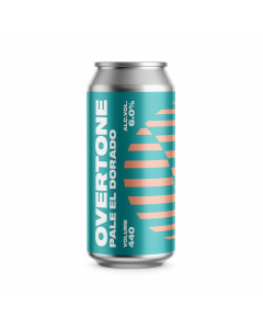 Overtone Brewing - Pale El Dorado 44 cl.