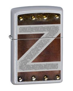 Zippo Leather and Metal