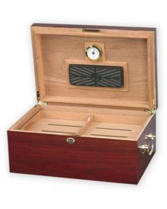 Humidor til ca. 100 cigar Tuscany – High Gloss Cherry Humido