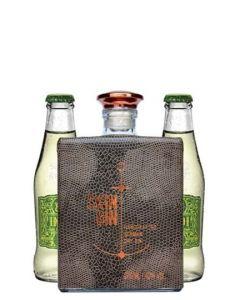 Skin Gin gaveæske m. 2 fl. Indi Lemon, 50 cl. 42%