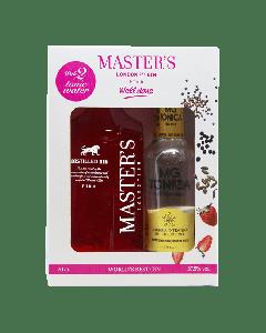 Master's Pink Dry gavesæt m. 2 MG tonic, 37,5%