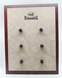 Stanwell pibe display til 6 piber (brugt)
