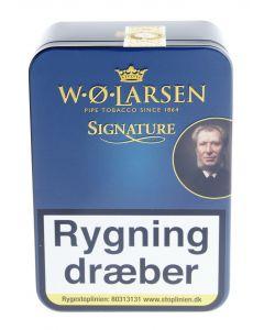 Signature - W.Ø. Larsen Tobak