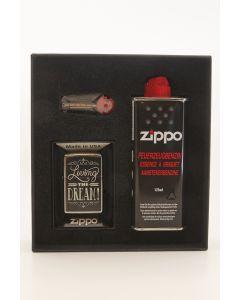 Zippo gaveæske med lighter