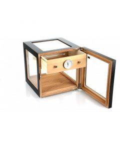 Adorini Cube Deluxe Humidor Black
